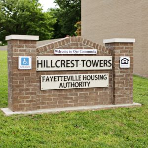 fayetteville housing authority sign